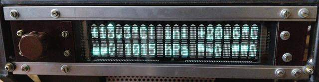 Octoglow VFD - Main display board